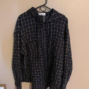 Faith Connexion Jackets & Coats - Faith Connextion Tweed Coat small